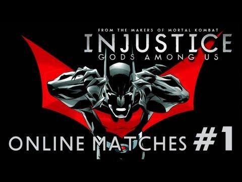 Injustice: Gods Among Us - Online Matches #1: Batman TRUE-HD QUALITY |