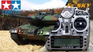 FrSky Taranis X9D + Tamiya DMD Control Unit T-07