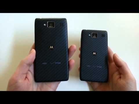 DROID RAZR MAXX HD Unboxing (RAZR HD Comparison Too)