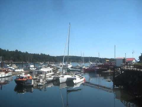 Boats in the Marina / Salt Spring Island, Canada