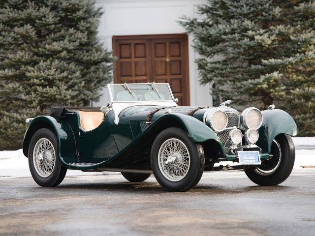 1938 SS 100 Jaguar 3½ Litre Roadster