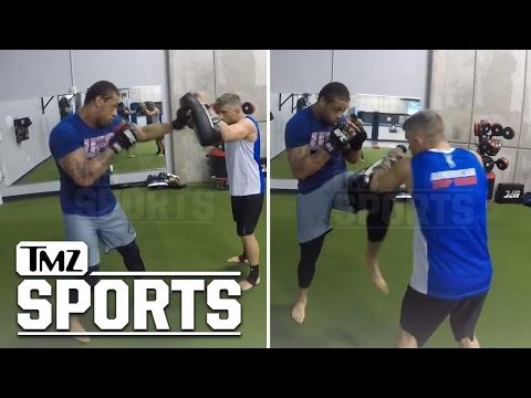 GREG HARDY -- MMA TRAINING SESSION VIDEO...Speed & Power On Display | TMZ Sports