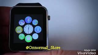 Gambar cover review Smartwatch u10 dan A1 terbaru seperti Apple watch