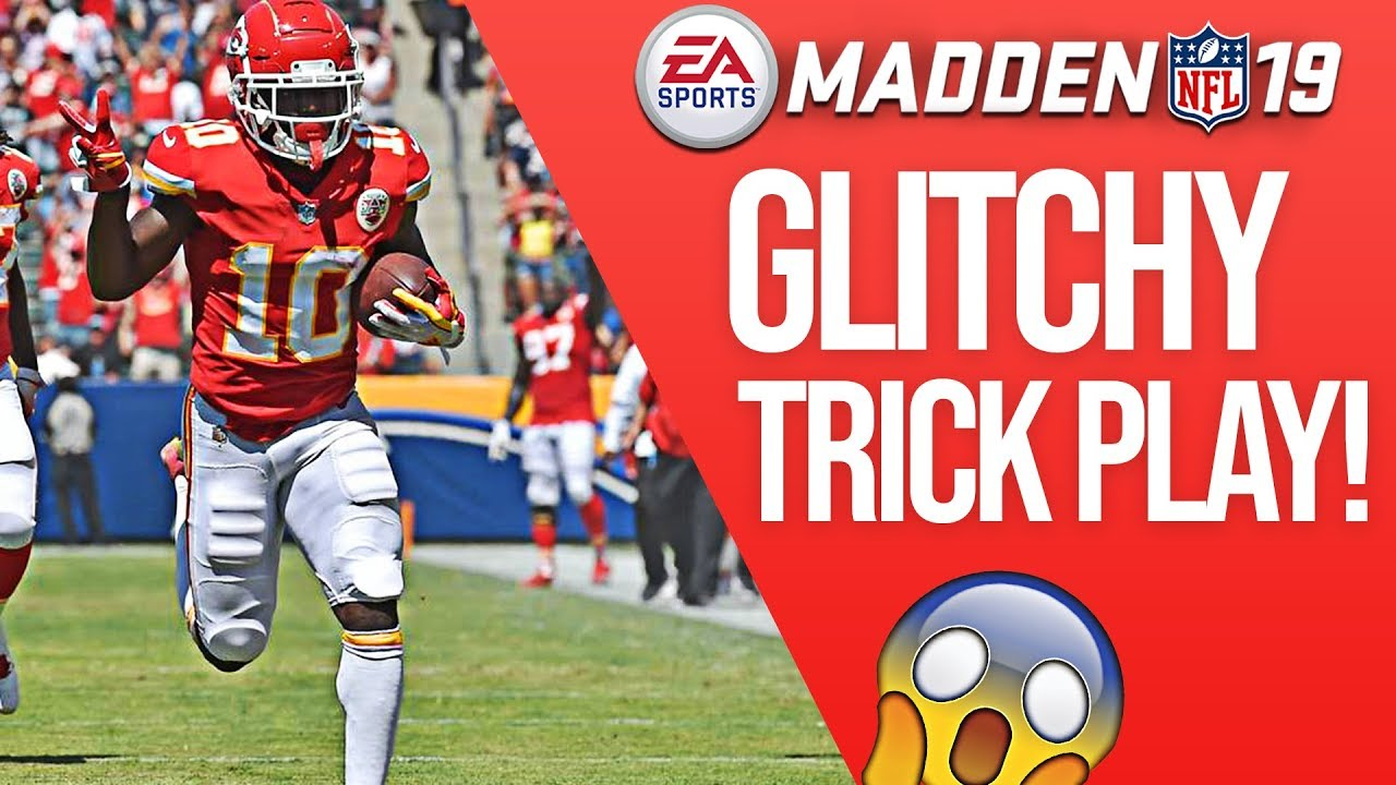 This Madden 19 Trick Play CHEATS! - Very Hard To Stop