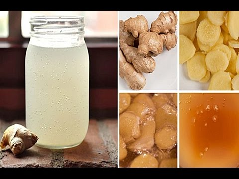 CREATE YOUR OWN PERFECT GINGER WATER TO TREAT MIGRAINES