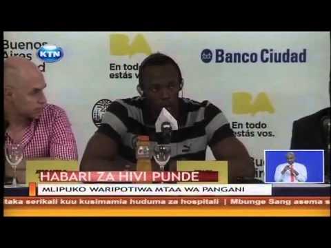 Usain Bolt aahidi kuvunja rekodi ya mbio za mita 200