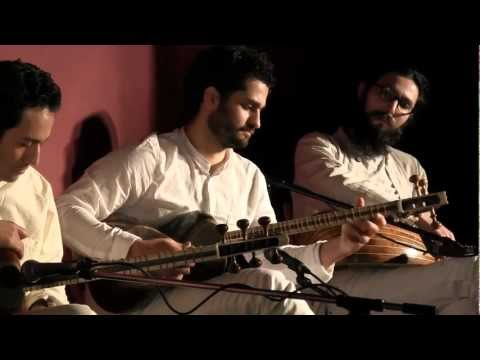 Sarmast Ensemble - Tar Bass : Alborz Bekhradi, Tombak : Arash Shomali (Paris Feb. 2012)