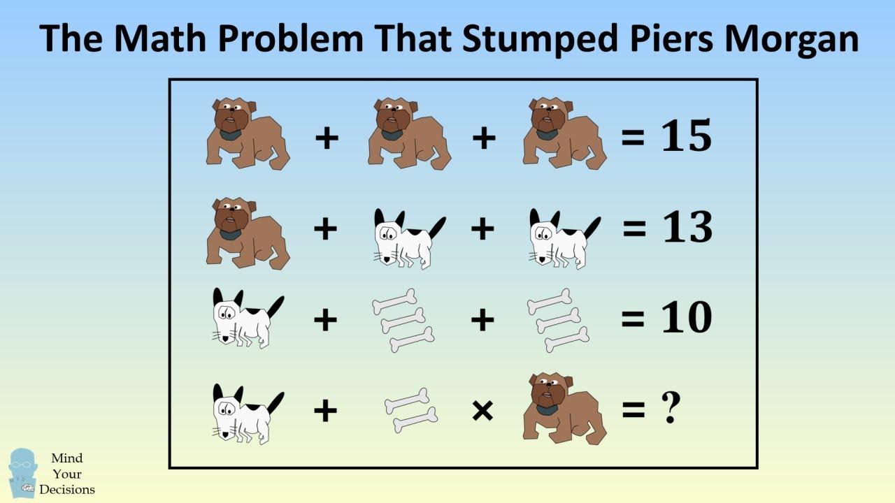 Piers Morgan Stumped By Simple Math Problem - Lady Karren Brady\'s ...