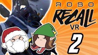 Robo Recall VR: Larry David - PART 2 - Game Grumps