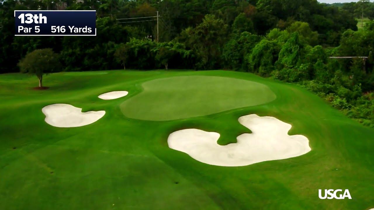 2020 U.S. Women's Open: Drone Flyovers of Champions Golf Club
