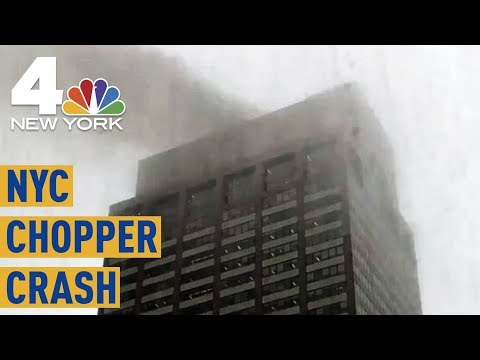 NYC Helicopter Crash: 1 Dead After Aircraft Makes Hard Landing in Midtown | NBC New York