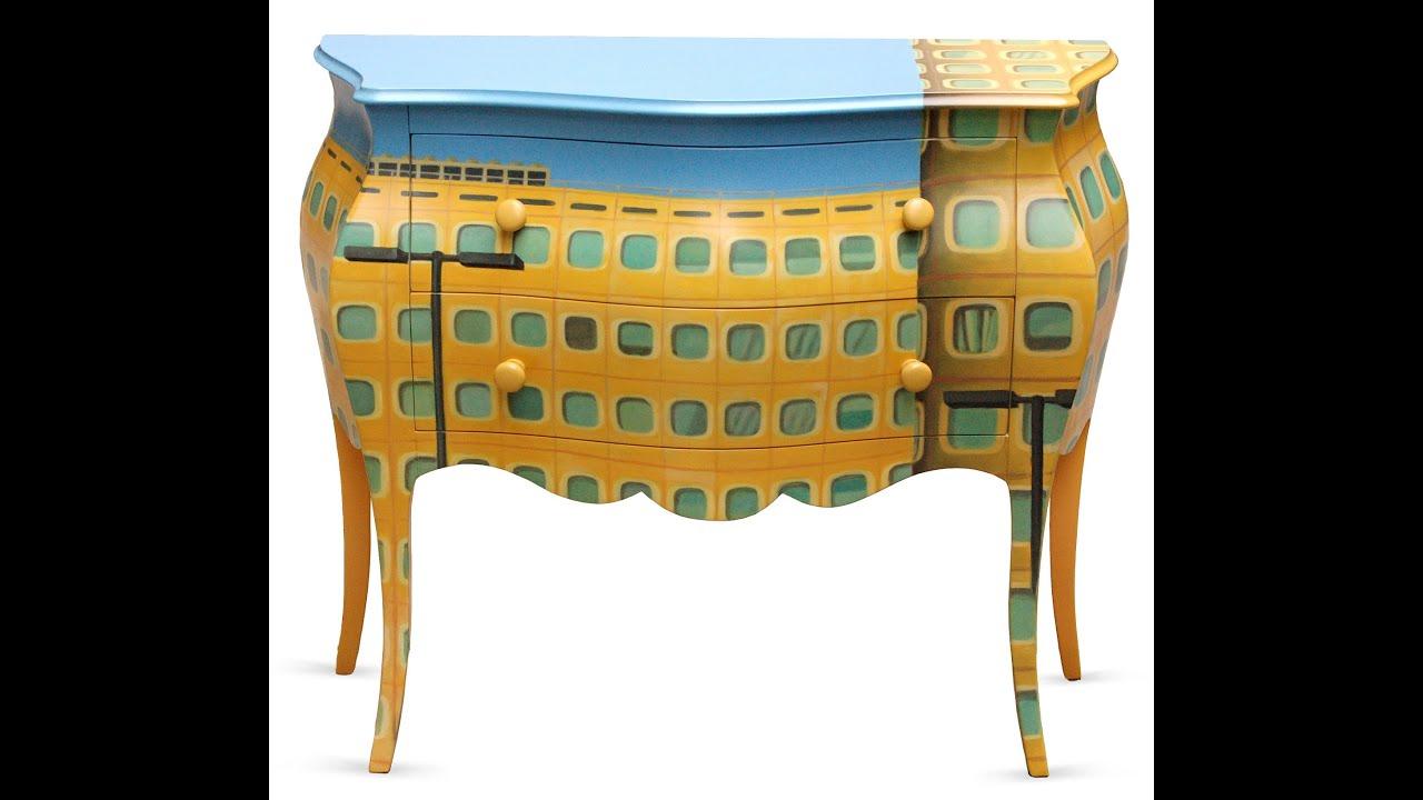 Mobili dipinti a mano mobili italiani decorati italian for Mobili design italiani