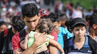 Migrants In Caravan Sue Trump