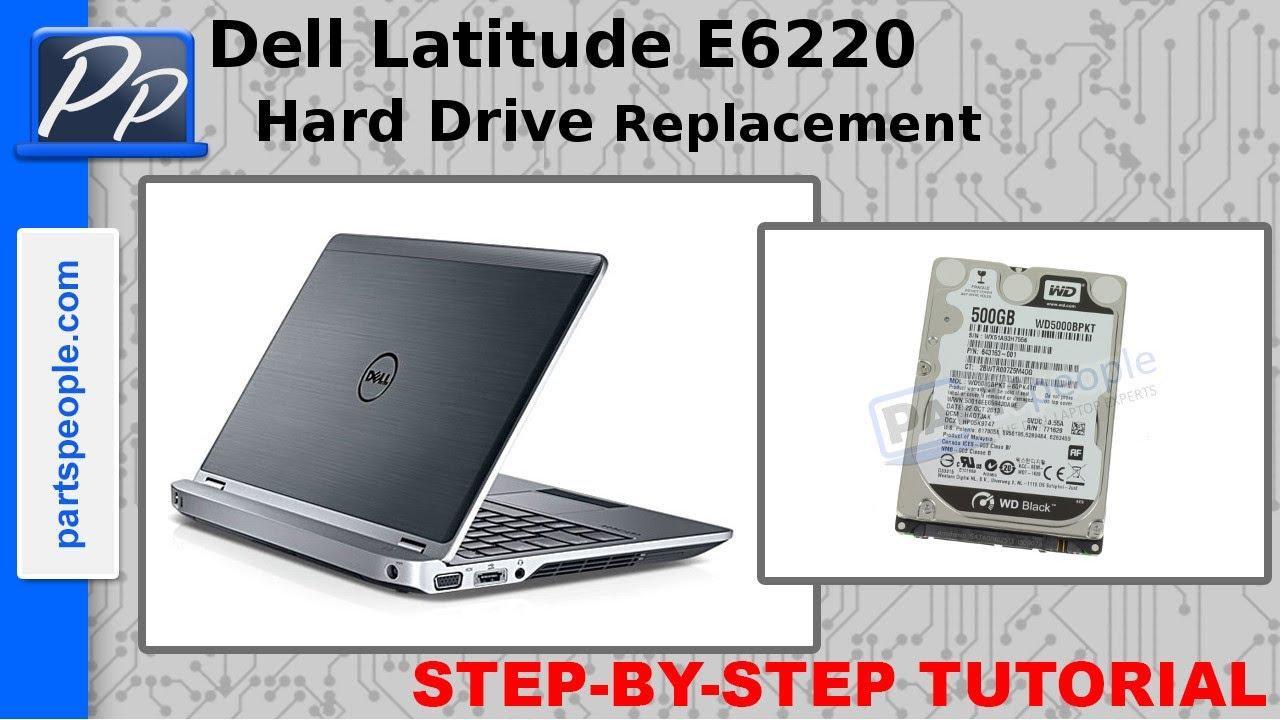Dell Latitude E6220 Hard Drive Video Tutorial Teardown Youtube