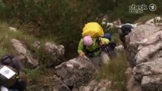 Wissen und mehr Die Gipfelstürmer Lesley und Isabel gehen an ihr Limit
