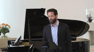 """Maienlied"" Op  8, Nr 7  Mendelssohn #SHEA OWENS, bariton, #CLAIRE PASQUIER, Fazioli 278 #livestream"