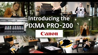 Laurel Fisher - An Artist's Story of the Canon PIXMA PRO-200