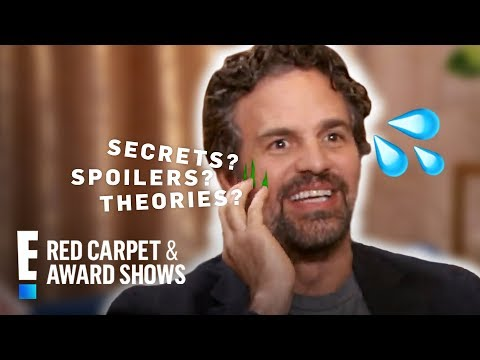 Chris Evans Says Mark Ruffalo Can't Be Trusted With Marvel Secrets   E! Red Carpet & Award Shows