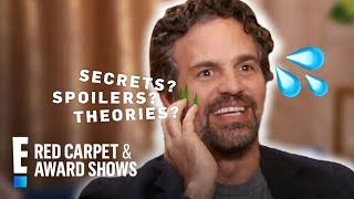 Chris Evans Says Mark Ruffalo Can't Be Trusted With Marvel Secrets | E! Red Carpet & Award Shows