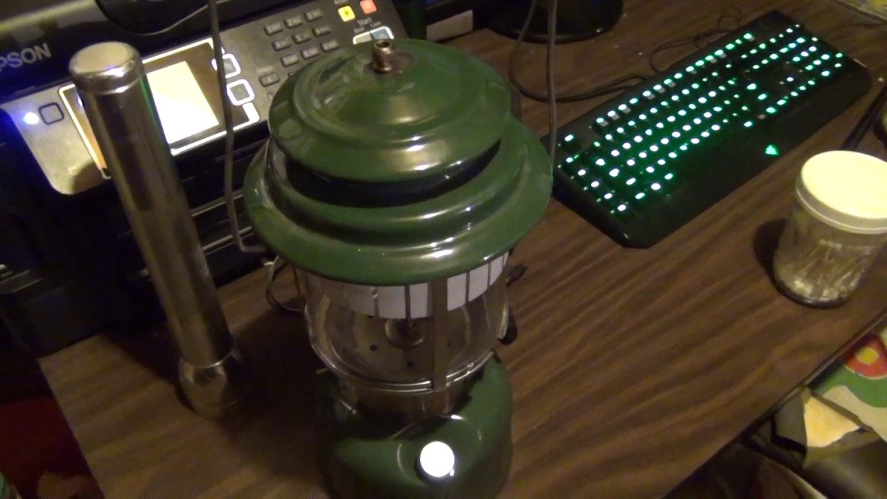 Coleman lantern project, will it run on diesel?