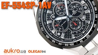 UNBOXING Casio Edifice EF-554SP-1AV
