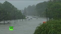 Texas, con el agua al cuello, tras el huracán Harvey