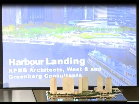 Winning Design Announcement - Jack Layton Ferry Terminal & Harbour Square Park Design Competition