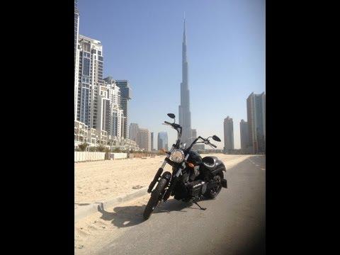 GoPro Motorcycle riding in Dubai