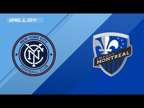 NYCFC vs. Montreal Impact   HIGHLIGHTS - April 6, 2019
