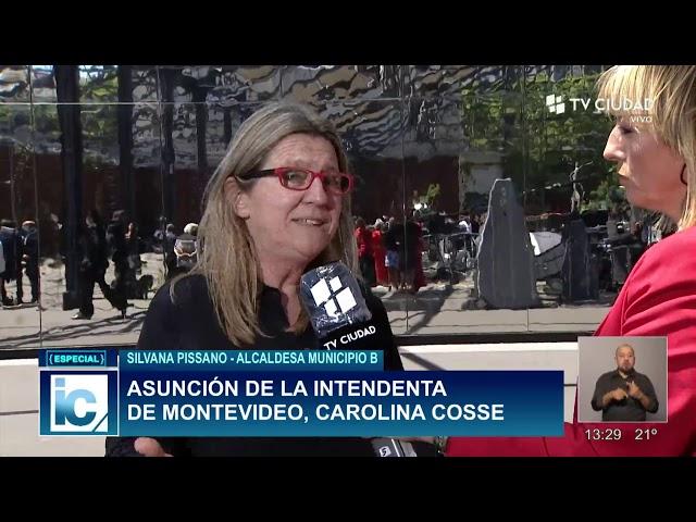 Silvana Pissano Alcaldesa Municipio B
