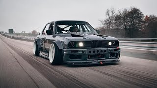 BMW E30 Turbo Drift Tuning Project 🔧 DIRTY E30
