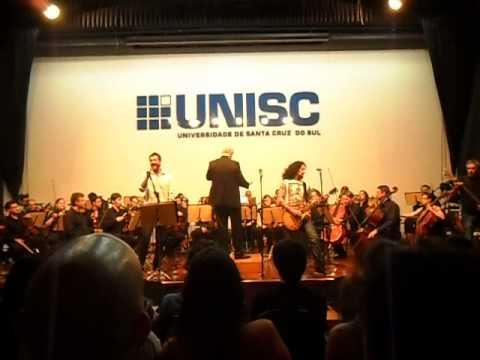HardRockers & Orquestra Sinfônica da UCS na UNISC - The Final Countdown