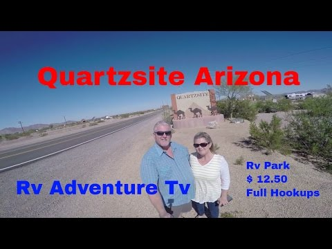 RV Life Living Full Time S4 E11 Quartzsite Arizona  La Paz Valley Rv Park