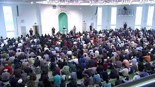 Проповедь Хазрата Мирзы Масрура Ахмада (24-07-2015 )