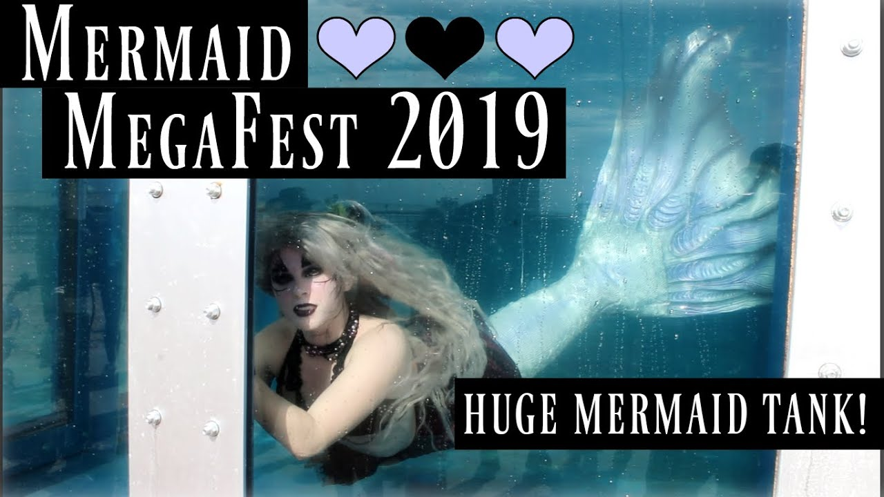 Mermaids Swimming in the Coolest Tank EVER! ♥ MERMAID MEGAFEST 2019 Videos  ♥ The Magic Crafter