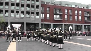 Showband Urk.( JHK ) Taptoe Dronten 2012 Deel 1