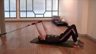 Exercices abdominaux spécial ventre plat - Muscle transverse