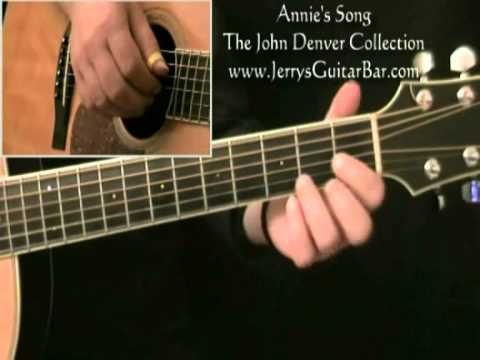 How To Play John Denver Annie's Song Introduction