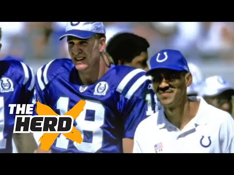 Tony Dungy on Peyton Manning getting too tense before a game | THE HERD
