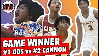 Cam Hayes GAME!! TOP PGs BATTLE: Jaden Bradley, Carson McCorkle, DJ Nix | #1 GDS vs #2 Cannon
