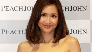 紗栄子「たれた胸もセクシー」 「PEACH JOHN」新ミューズ発表会見1 #Saeko #event 紗栄子 動画 11