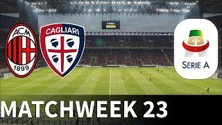 AC Milan vs Cagliari - San Siro - 2018-19 Serie A - PES 2019