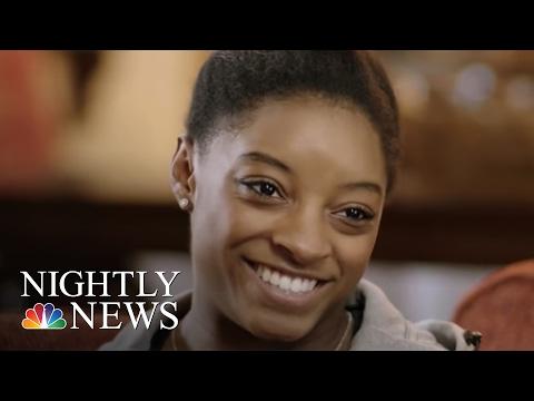 Rio 2016: Simone Biles' Journey to Olympic Stardom | NBC Nightly News
