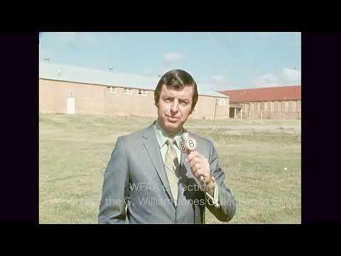 Plans For The Original George Washington Carver School Building In Garland - September 1971