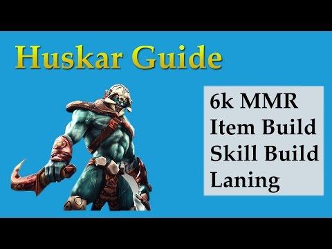 Huskar Guide Part 2- Solo Melee Offlane Stomp Scenario