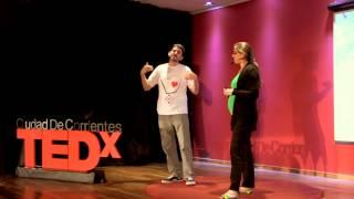 Encontrar la magia en el camino: Dino y Aldana at TEDxCiudadDeCorrientes
