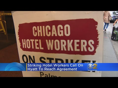 Tone Kapone - Workers Remain On Strike At 10 Downtown Hotels