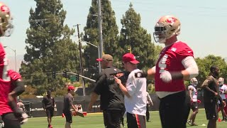 McGlinchey, Staley Building Relationship For San Francisco 49ers
