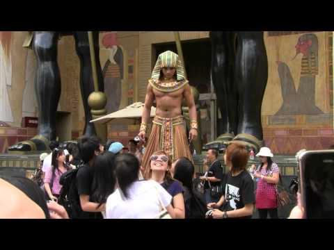 Ancient Egypt Bodyguard (Singapore Universal Studio)