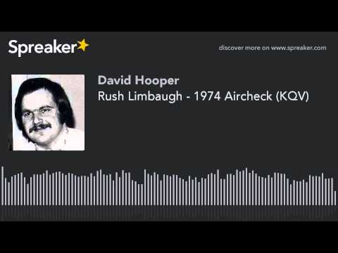 Rush Limbaugh - 1974 Aircheck (KQV)